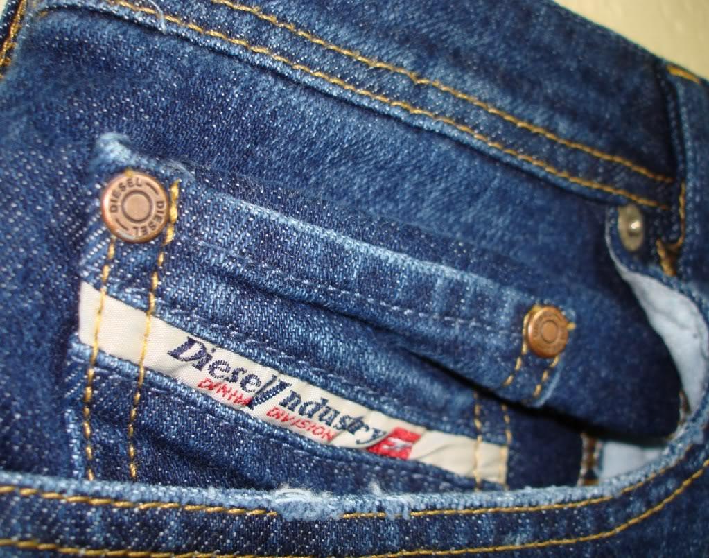 Marque jeans, je fais l'essai en magasin