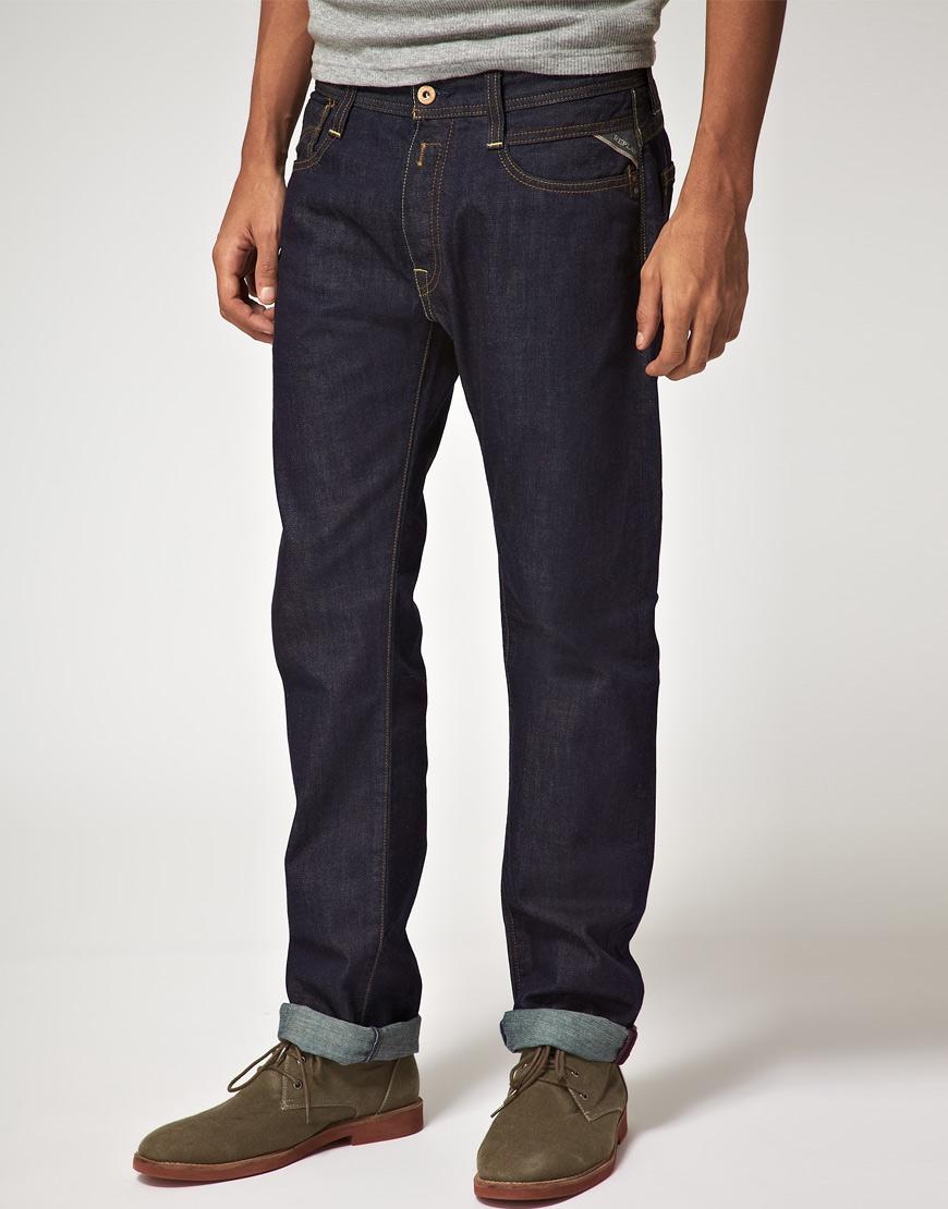 Profitez du confort et de la qualité des jeans brut homme