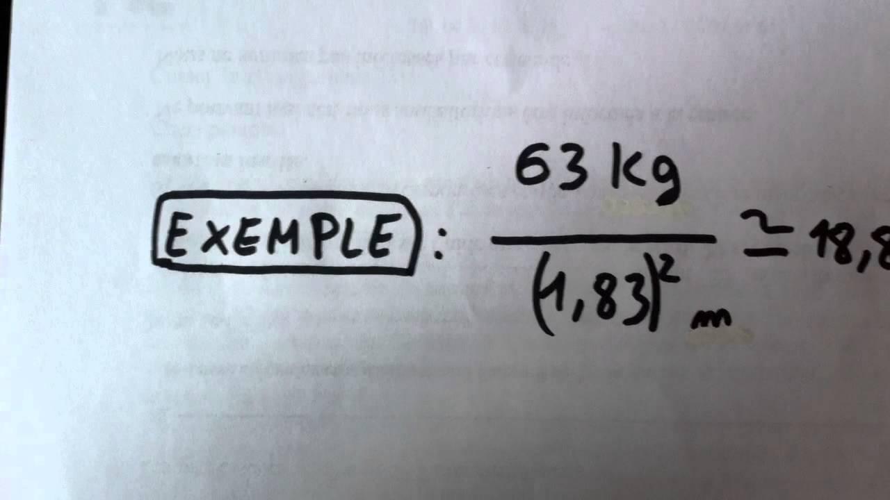 Comment calculer son imc