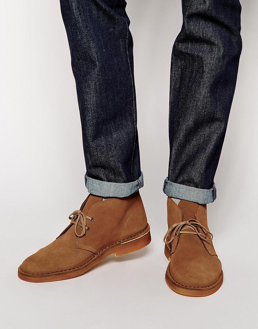 Desert boots de la marque Clarks : très tendance et branchée en ce moment