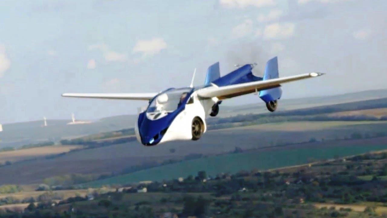 Voiture volante, voici les modèles